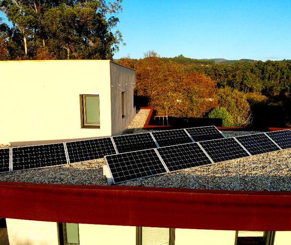 Proyecto Residencial Fotovoltailca - Campañó